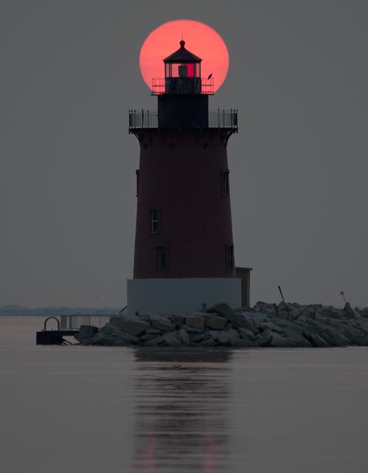 Cape H Sunset 8.20