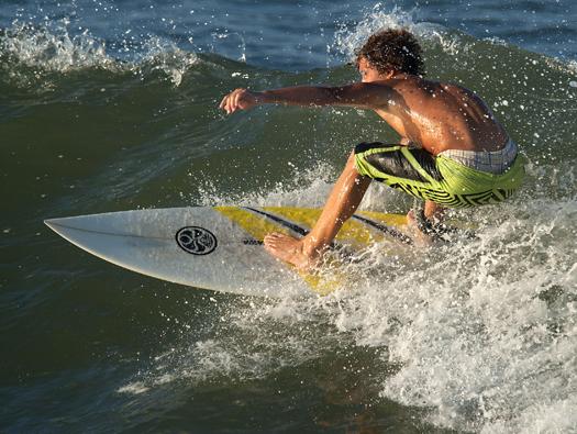 Surfing Herring Point 7.11.1